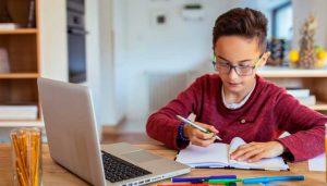 Ensino online dá cabo da visão das crianças